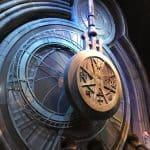 The big clock at Hogwarts