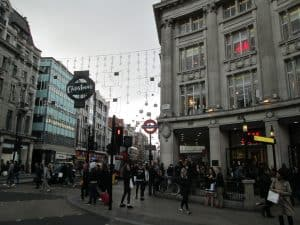 Sightseeing, Oxford Street